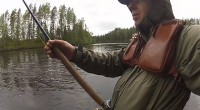 30-lb / 13,5 kg losos v peřejích řeky Byske / Švédsko. Boj trvá po dobu 35 minut ve studené vodě přes 1100 yd / 1km prudkými peřejemi. Celý příběh a […]