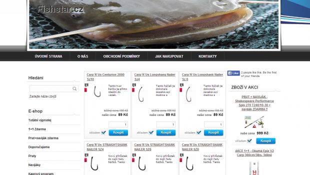 Rybářské potřeby – Fishstar.cz s.r.o. působí na trhu již čtvrtým rokem a nabízí rybářské potřeby známých firem které jsou na trhu stálicí.V naší kamenné prodejně a eshopu najdete nejen háčky, […]