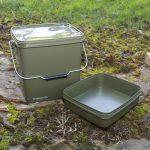 Kyblík Trakker – Olive Square Container 13L