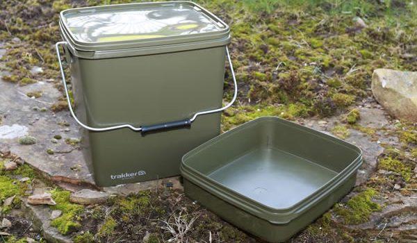 13ti litrový plastový kyblík určený k přechovávání všech typů návnad – boilies, pelet, partiklu, spod mixů atd. Teto kyblk má navíc vyjímatelnou přihrádku, která je ideální k přechovávání nástrah, PVA, […]