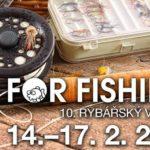 Rybářský veletrh - For Fishing 2019